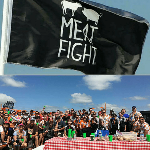 Meat Fight bike team