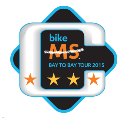 Bike MS Bay to Bay Captain Patch