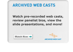Archived Web Casts
