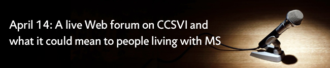 Live Web forum on CCSVI - April 14