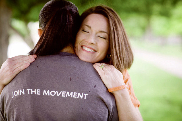 Join the Movement hug