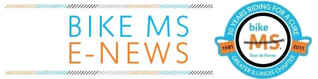 Bike MS 2011 E-News 30 Anniversary Header