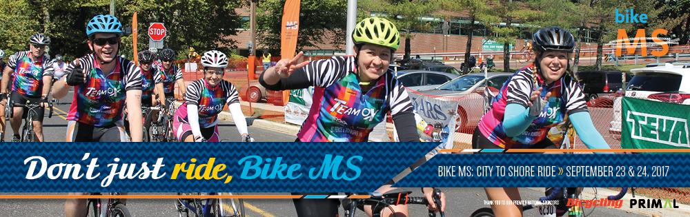 Bike MS: City to Shore 2017