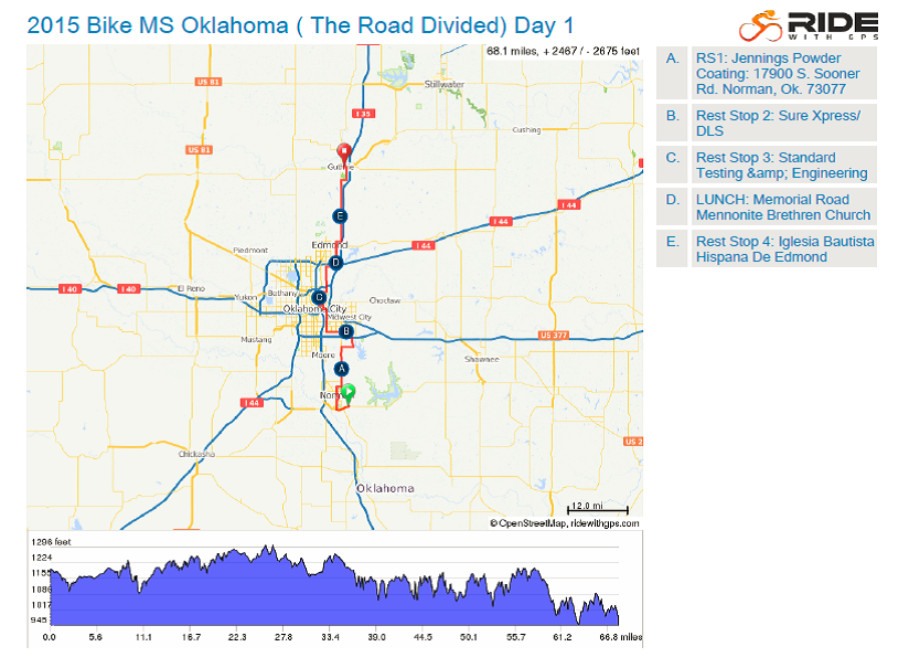 Email - Bike MS: The Road Divided Route Information ...