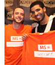 Grammy-nominated Drake raps for MS