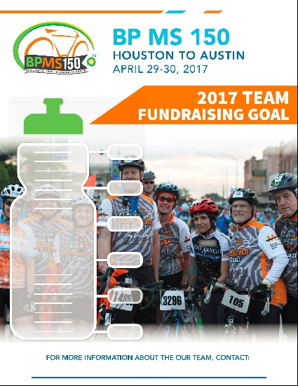 Flyer Team Fundraising Goal