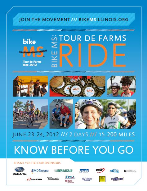 ILD Bike MS 2012 Know Before You Go front page image