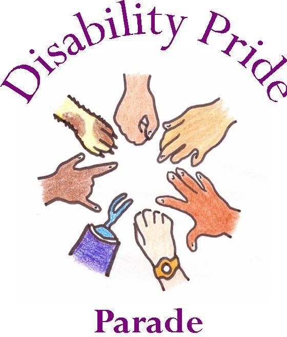 ILD Disability Pride Parade logo