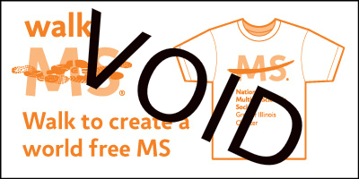 ILD Walk MS T Shirt Voucher Void