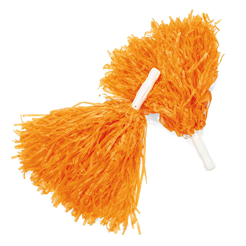 ILD Walk MS Orange Pom Poms