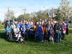 ILD Walk MS South Cook MS Self-Help Group Team