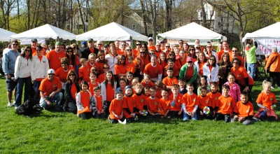 ILD Walk MS West Suburbs Team Bud