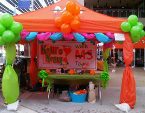 ANY Team raising $1500+ by April 1st will wil a TEAM TENT in our Team Village! & Email - Win a Team Tent @ Walk MS! - National Multiple Sclerosis ...