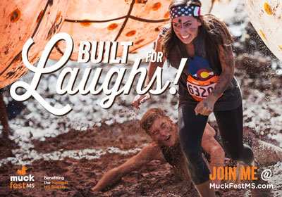MuckFest MS eCard Built for Laughs