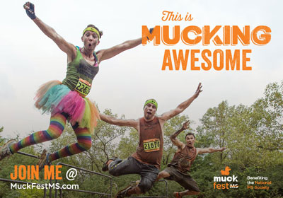 MuckFest MS eCard This is Mucking Awesome