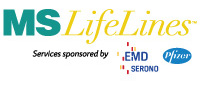 ILD MS Lifelines Emd Pfizer logo