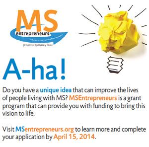 MS Entrepreneurs - Deadline April 15, 2014