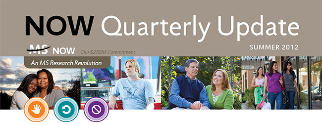 NOW Quarterly Update Summer 2012