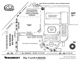 2017 BP MS 150 Maps - Bellville Lunch Site