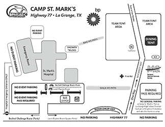 2017 BP MS 150 Maps - Camp St. Mark's Site