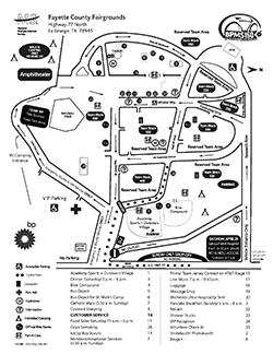 2017 BP MS 150 Maps - Fayette County Fairgrounds Site
