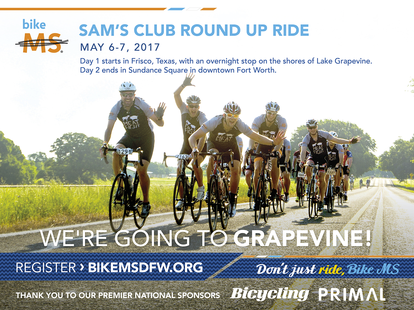 Bike MS: Round-Up Ride