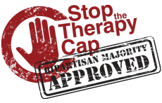"""Stop The Therapy Cap"" Campaign"
