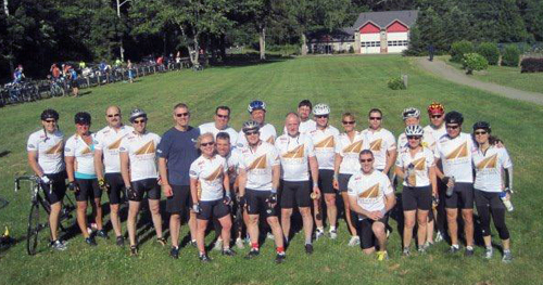 Vitamin Shoppe bike team
