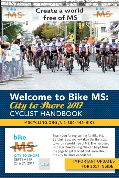 City to Shore Cyclist Handbook 2017