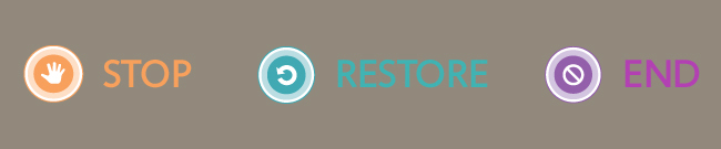 Stop. Restore. End.