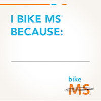 Bike MS Social Awareness I Ride For