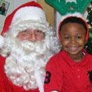 Kingston Gordon at Holiday Party